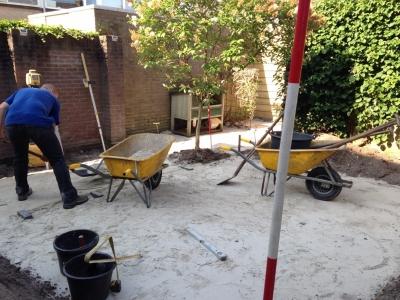 Eigentijdse achtertuin in Loon op Zand